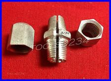 """Safe-Line Clamp 3/32"""" Double Barrel Wire Rope Cable Fitting Cad Finish LOT OF 2"""