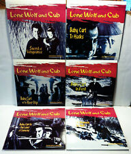 Lone Wolf and Cub 6 LASERDISC LOT/SAMURAI CINEMA/WIDESCREEN COLLECTOR'S ED/NTSC