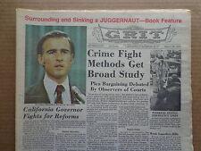 GRIT Newspaper M16 1975 ADAM-12 Kent McCord-COMICS-Nolan Ryan-JUGGERNAUT