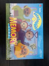 Vintage 1998 Teletubbies Memory Card Match Game Milton Bradley Sealed