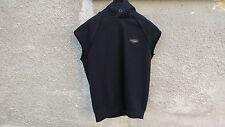 GIVENCHY in pelle con logo su Rottweiler Oversize Felpa Con Cappuccio Senza Maniche Taglia S (L/XL)