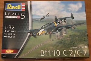 1/32 Revell (Dragon Re-issue) Bf110 C-2/C-7
