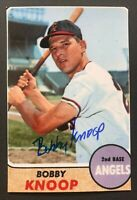 BOBBY KNOOP MLB Los Angeles Angels Baseball Auto Autographed Signed 4x6 Photo 3