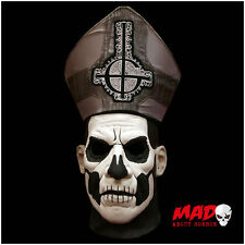 Official Ghost Papa Emeritus 2 Deluxe Latex Collectors Mask - Heavy Metal Band