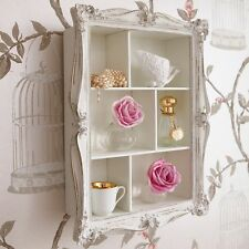 French Chic Shelf Wall Unit Display Cabinet