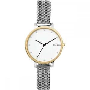 Womens Wristwatch SKAGEN HAGEN SKW2661 Stainless Steel Mesh Swarovski