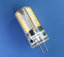 G4 T5 3W LED Bulb DC12~24V AC12V  72 3014SMD Silicone Lamp Warm White 2700K