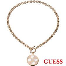 GUESS Damen Halskette Schmuck Stahl Rosegold Rhodiniert Kette UBN11470