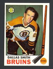 1969-70 Topps Hockey Dallas Smith #25 - Boston Bruins - Mint