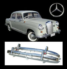 Brand new Mercedes Ponton W120 W121 4 Cyl (53-59) stainless steel bumpers