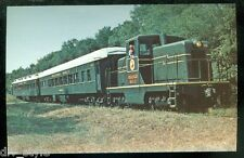 Trilby - San Antonio & Cypress RR Orange Belt Route #65 postcard Pullman Cars
