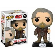 Funko Pop Star Wars Luke Skywalker Bobble Head The Last Jedi Disney 2017