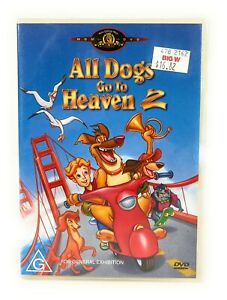 All Dogs Go To Heaven 2 (DVD, 1996) Dom DeLuise New & Sealed Region 4 Free Post