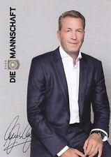 Andreas Köpke + Autogrammkarte Nationalmannschaft Deutschland + DFB + AK31