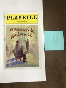 A Delicate Balance Playbill Elaine Stritch Rosemary Harris George Grizzard