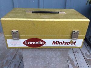 Lamello Minispot Repair Patch Cutter w/ Patches (150 ea. Cherry&Oak) & CarryCase