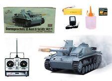 Heng Long RC Panzer Sturmgeschütz III Stug 3, 1:16, Metallgetriebe, Rauch, Sound