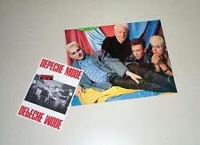 Depeche Mode Vintage Photocard & Postcard