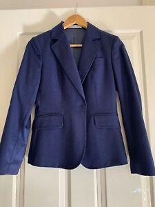 6Women's Navy Wool Suit Jacket Rhodes & Beckett Size 6