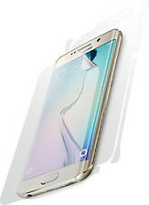 Phone case killer! Clear-Coat screen & back protector Samsung Galaxy S6 Edge USA
