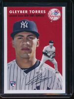 2018 Topps Throwback Thursday Gleyber Torres RC Card #257 NYY Rookie SP