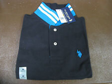 US Polo Assn Short Sleeve Shirt. Size Medium Slim Fit Black 11694488 NWT!! $42.