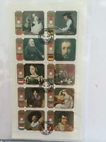 Japan Sapporo  Olympics 1972 Famous  Paintings stamps sheet  R25049