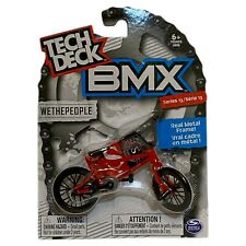 Tech Deck BMX Metal Finger Bike Wethepeople Red Series 13 Brand New Sealed