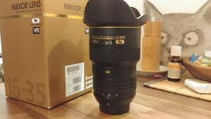 Nikon Nikkor 16-35 mm F/4.0 AF-S VR N ED Weitwinkel Objektiv FX