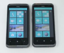 Lot of 2 Working HTC 7 Pro 16GB Windows Mobile Smartphones for U.S. Ceullar