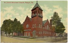 St. John's Reformed Church in Bangor PA Postcard