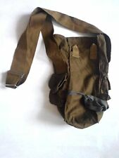 Soviet Russian Army Surplus Canvas Military Shoulder Gas Mask Bag Pouch