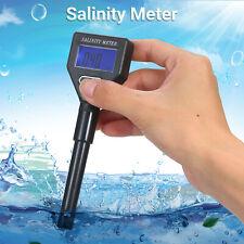 Seawater Salinity Refractometer Mini Salinity Meter ATC Saltwater Tester