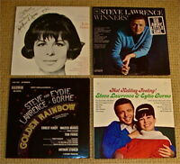 2 SIGNED STEVE & EYDIE LPs: XMAS/Winners/Softly As I Leave You + Golden Rainbow