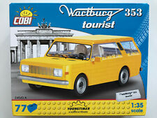 COBI Building Bricks 24543 A, Wartburg 353 Tourist, 77 Pieces, Kit Scale 1:3 5