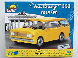 COBI Pièces de Construction 24543 A,Wartburg 353 Tourist,77 Pièces,Kit Échelle