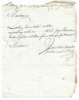 1741 RARE Louis XV stock exchange manuscript share price TRADING stockbroker sig