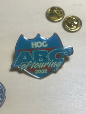 Harley Davidson 2002 HOG Official ABC Pin