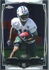 Topps Chrome Football 2014 Rookie Card #145 Jalen Saunders - New York Jets