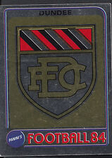 Panini Football 1984 Sticker - No 456 - Dundee - Foil Badge