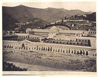 Genova Italia 5 Foto Ca 1880 Vintage Albumina