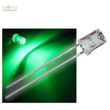 10 x LED 5mm konkav grün mit Zubehör grüne concave LEDs