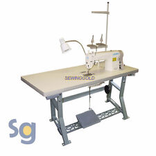 JUKI DDL-8700H Industrial Sewing Machine with Stand, Servo Motor and Setup DVD