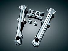 HARLEY DAVIDSON SPORTSTER 883 & 1200 XL Chrome Fork Leg Covers (Kuryakyn 7202)