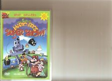 THE SUPER MARIO BROTHERS SUPER SHOW VOLUME 1 DVD RETRO 80S CARTOON BROS VOL 1