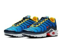 Youth Nike Air Max Plus Athletic Sneakers Blue Crimson CI5676-400 Size 6.5Y