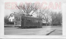 8A658 RP/NEG 1940 ILLINOIS IOWA POWER CO RAILWAY CAR #461 PEORIA IL