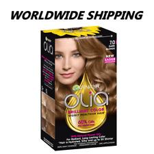 Garnier Olia Brilliant Color Permanent Hair Dye 7.0 Dark Blonde WORLD SHIPPING
