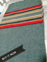 """PENDLETON WOOLEN MILL BLANKET""""REMNANT""""FABRIC PIECE  CAMP YAKIMA PC. NEW"""