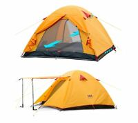 2 4 Person Tent Professional Ultra Lightweight Cycling Camping Hiking Outdoor 3